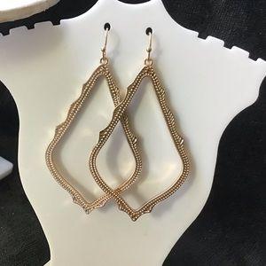 Kendra Scott Gold Sophee Earrings